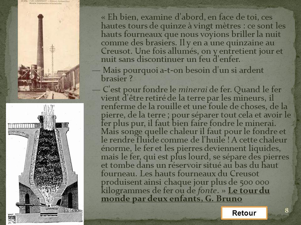 9 Établissements Schneider et Cie (Le Creusot) : photo de lAlbum 1881.