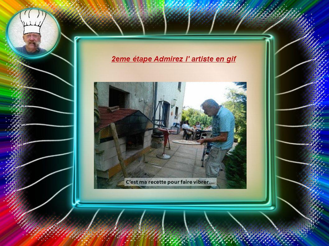 LOULOU désormais en retraite se lance dans la grande cuisine 1ere étape la fabrication du four en gif