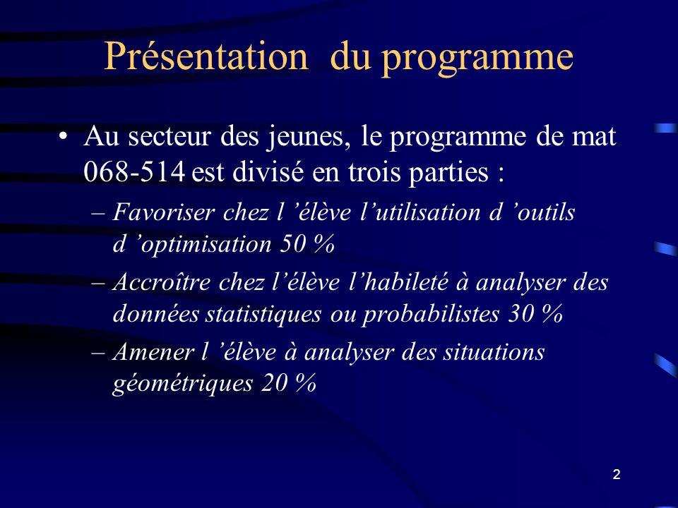 1 Atelier de formation : MAT - 5104 optimisation II (les graphes). MARTIN FRANCOEUR conseiller en évaluation ( La société GRICS ) martin.francoeur@gri