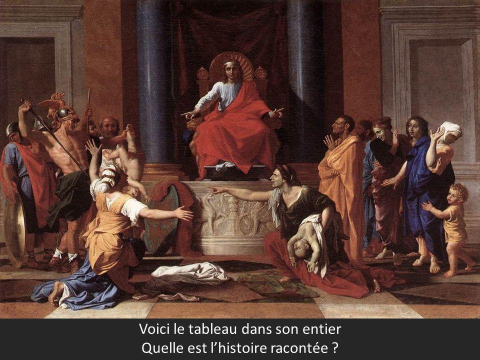Voici le tableau dans son entier Quelle est lhistoire racontée ?