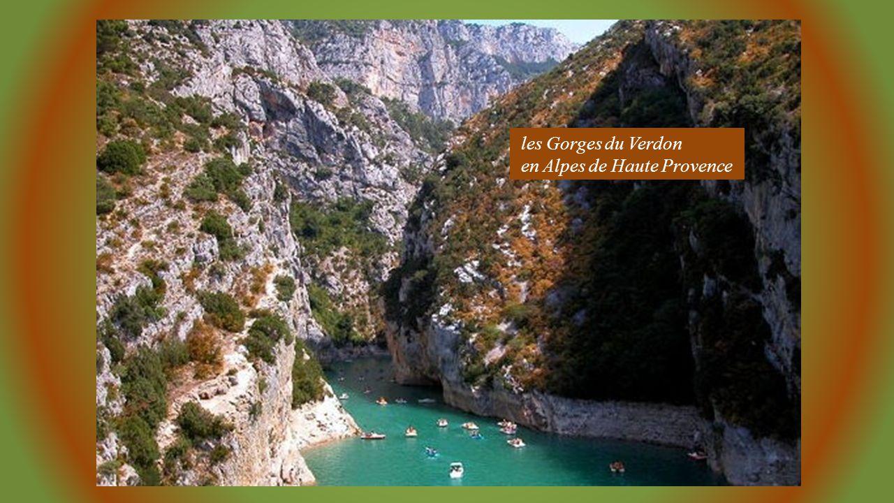 les Gorges du Verdon en Alpes de Haute Provence