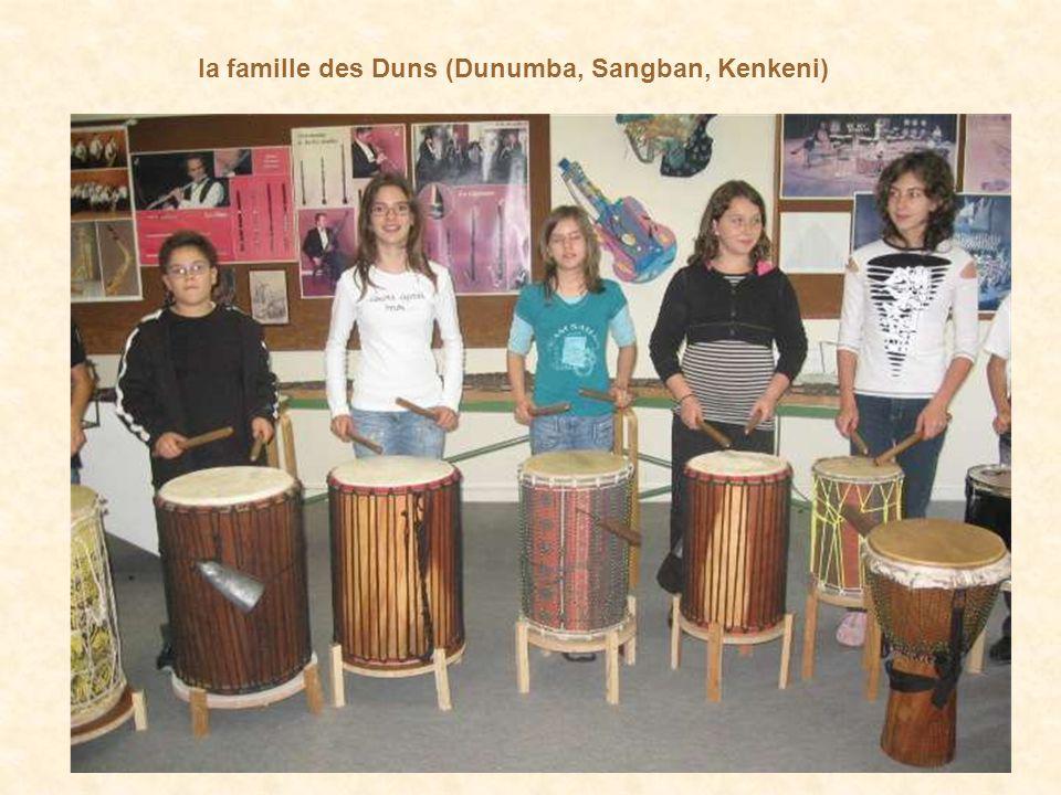 la famille des Duns (Dunumba, Sangban, Kenkeni)