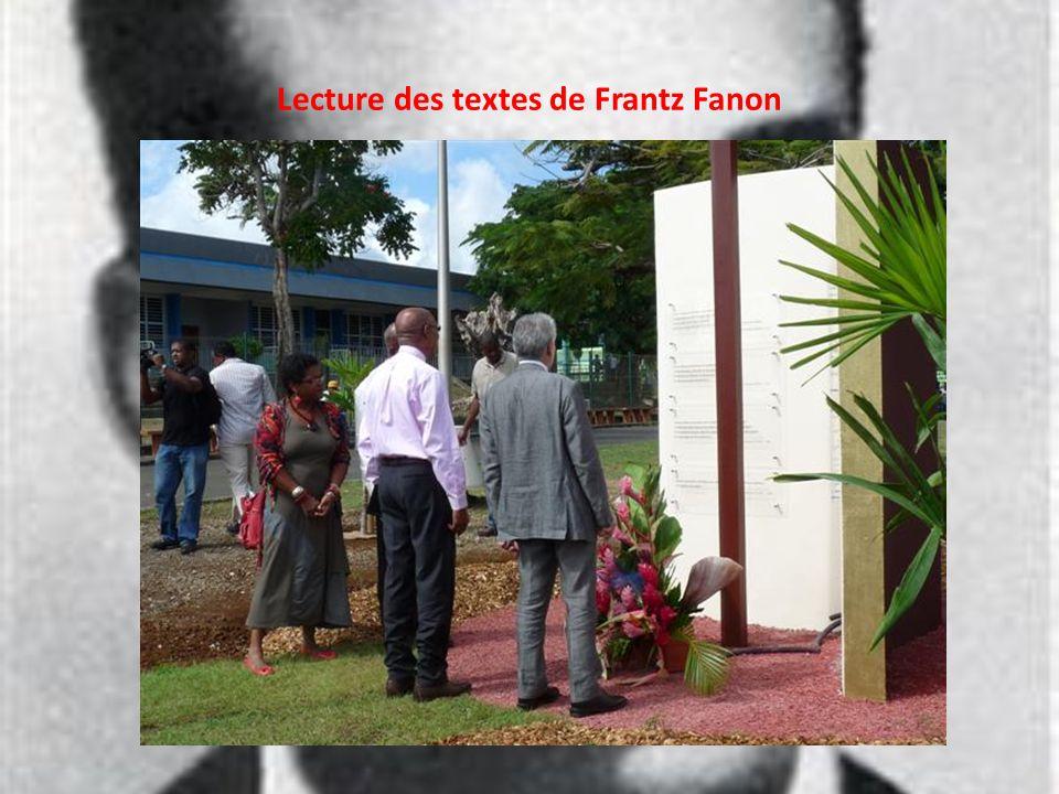 Lecture des textes de Frantz Fanon