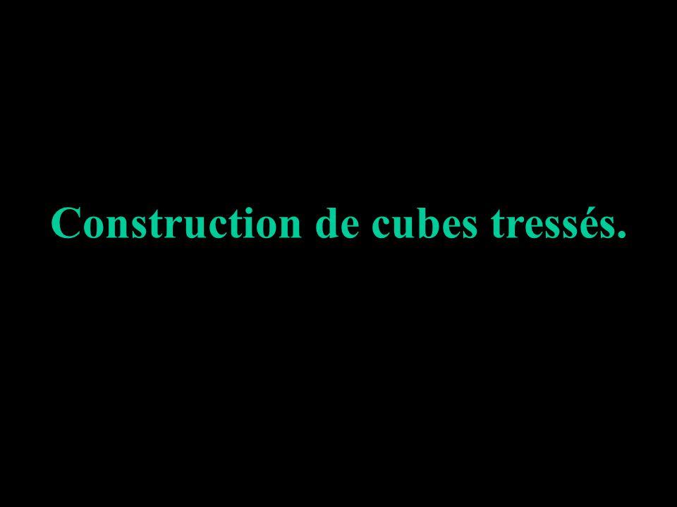 15 451011 14 9 8 3 2 13 12 7 6 1 Sur une feuille de papier format 21 x 29,7, tracez ce schéma qui nest pas un patron de cube.