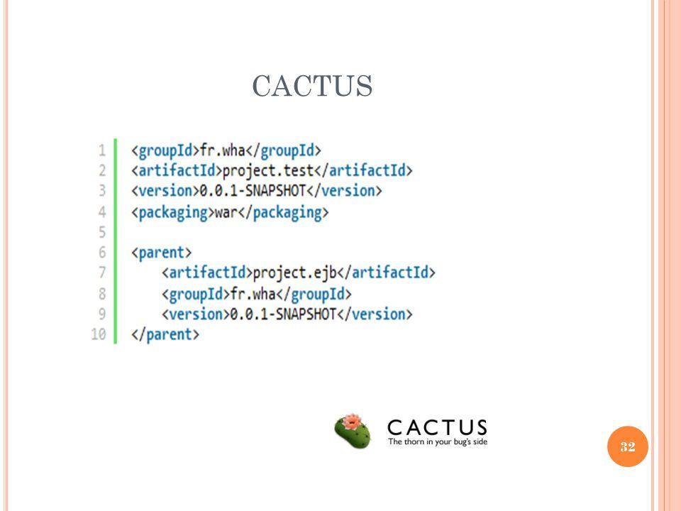 32 CACTUS