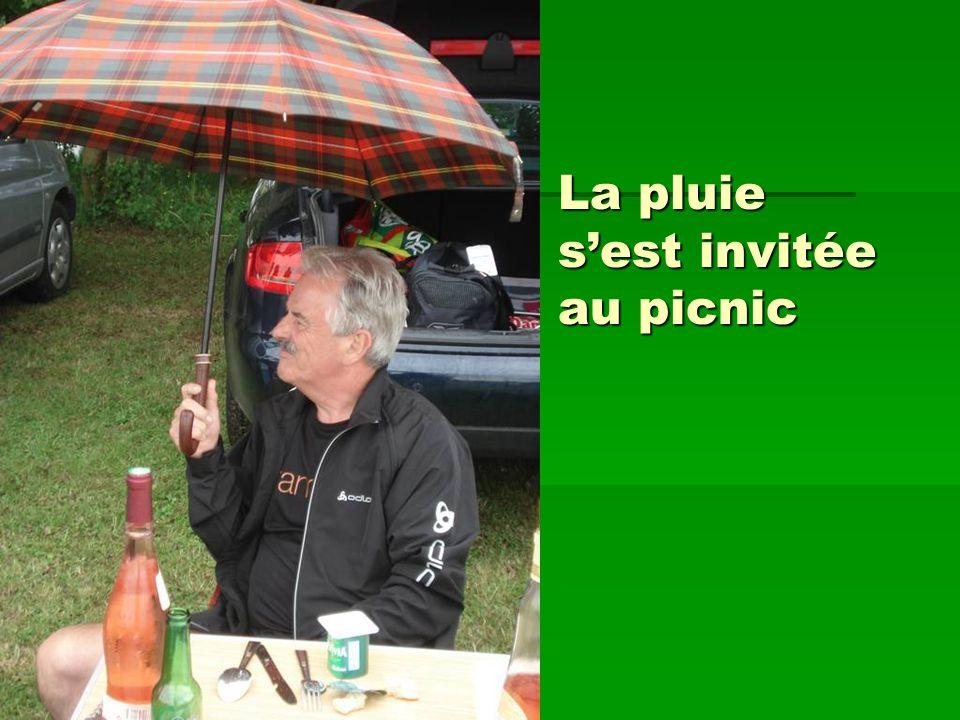 La pluie sest invitée au picnic