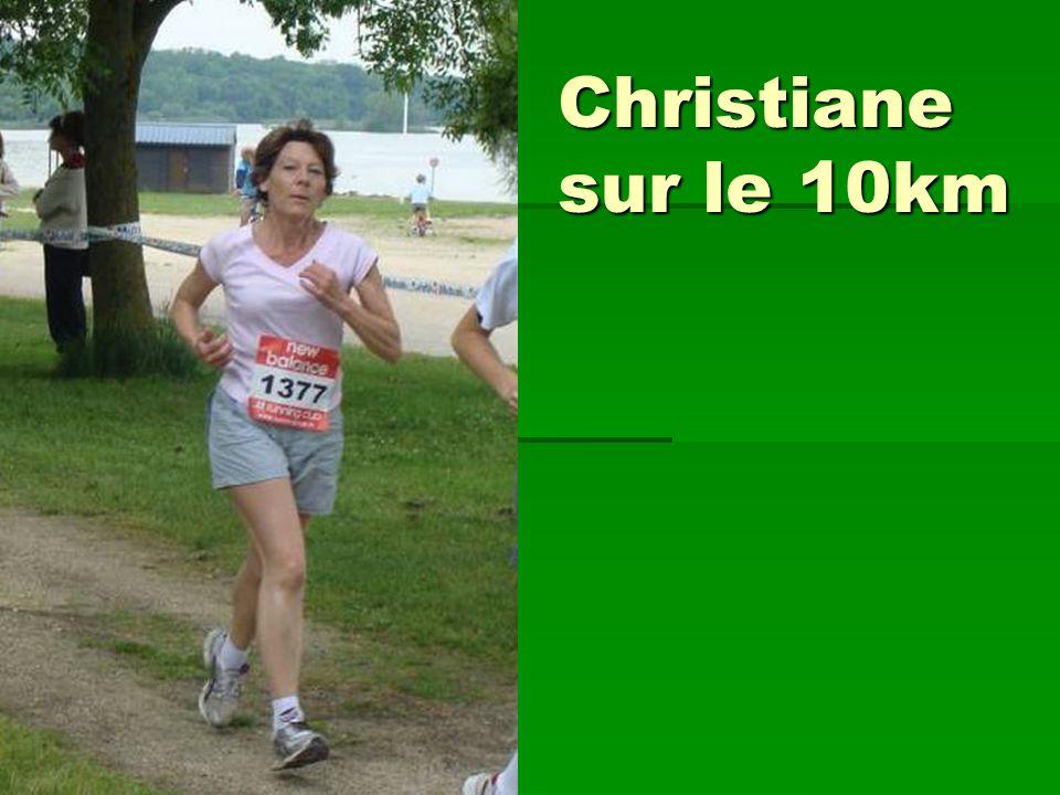 Christiane sur le 10km