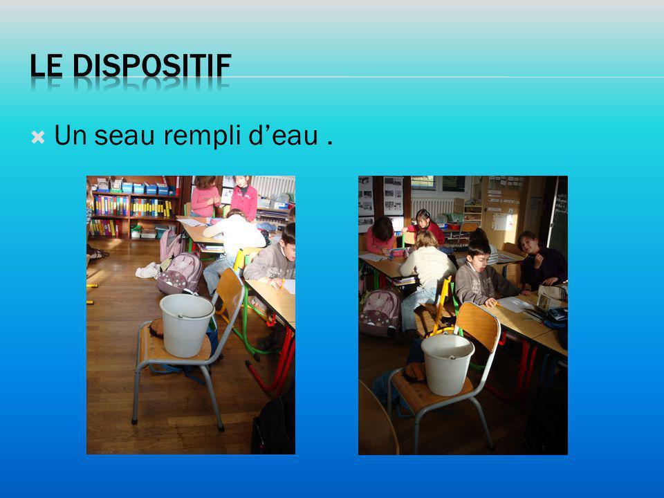 Les élèves de la classe ont amené chacun plusieurs objets de leur choix.