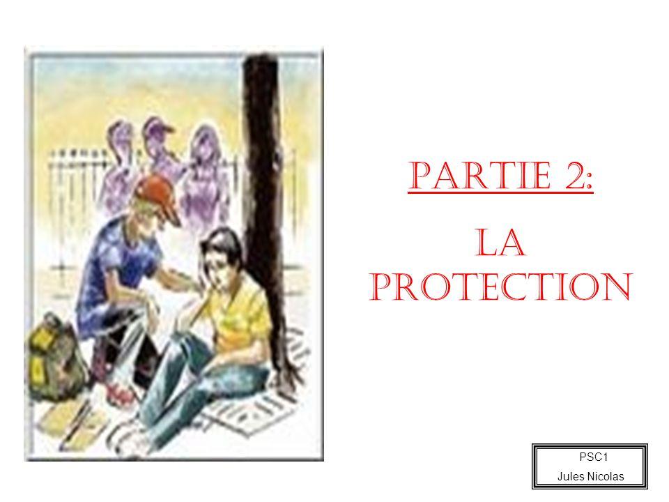 PSC1 Jules Nicolas PARTIE 2: LA PROTECTION