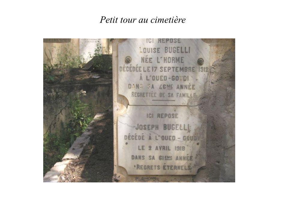 Petit tour au cimetière