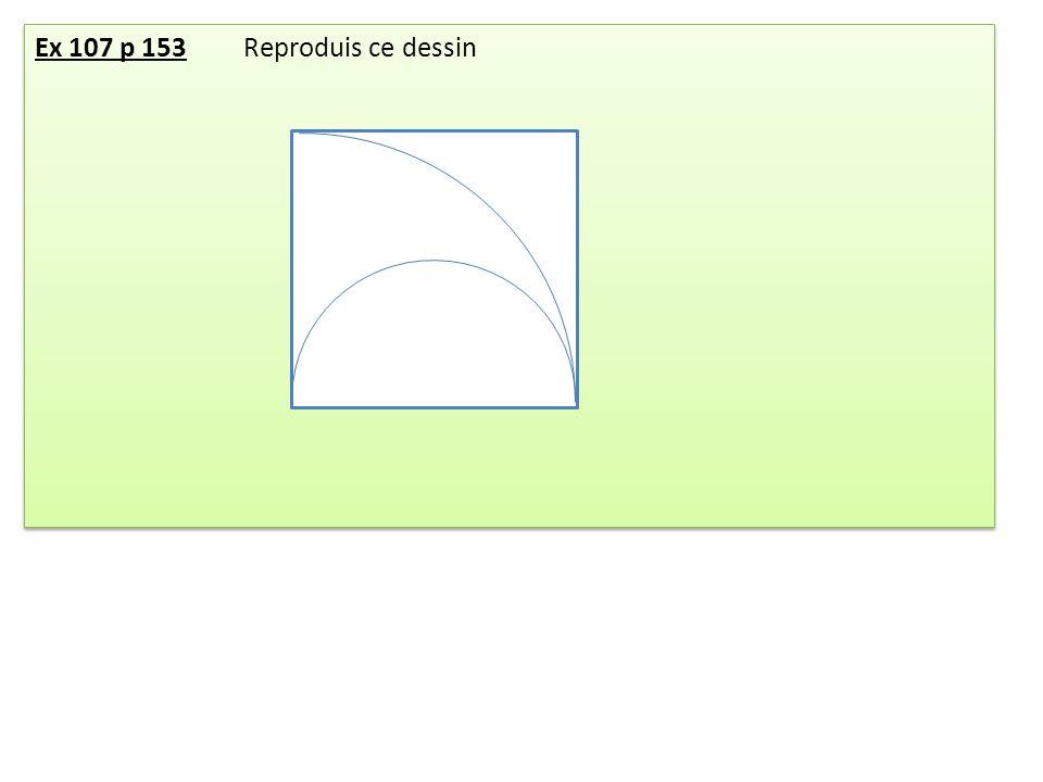 Exercice: a)Tracer la figure.b)Donner le programme de construction Exercice: a)Tracer la figure.
