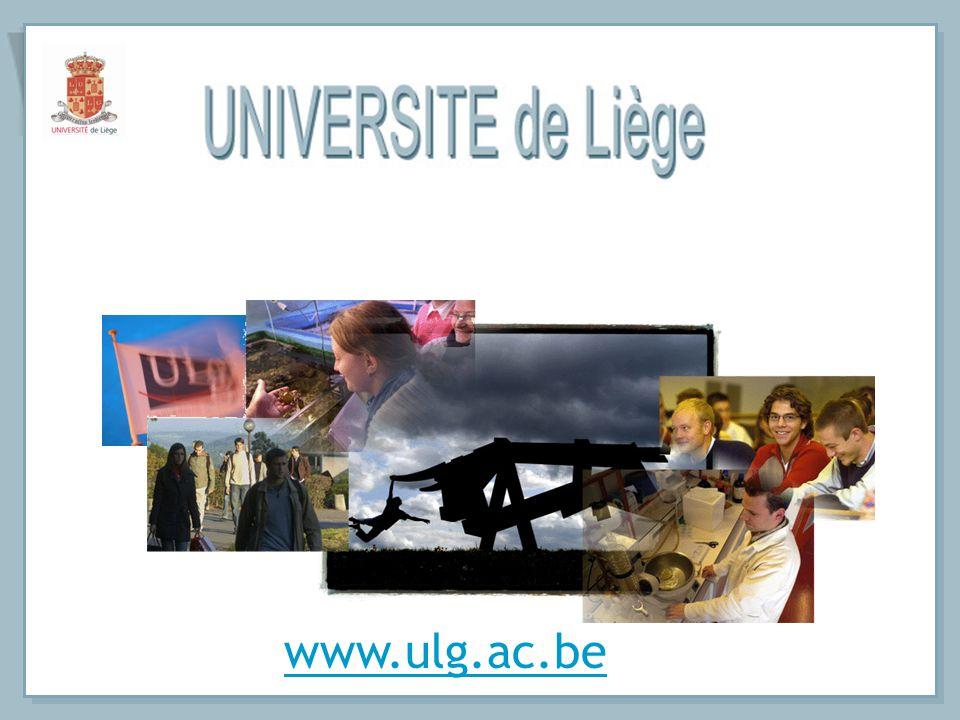 17.000 - 17.000 étudiants - 3.800 - 3.800 étudiants étrangers 80 - 80 nationalités 3.200 - 3.200 diplômés par an 600 - Relations avec plus de 600 Institutions universitaires dans 461 le monde (461 en Europe) - Relations avec les pays en voie de développement - Pôle mosan dEnseignement supérieur et universitaire