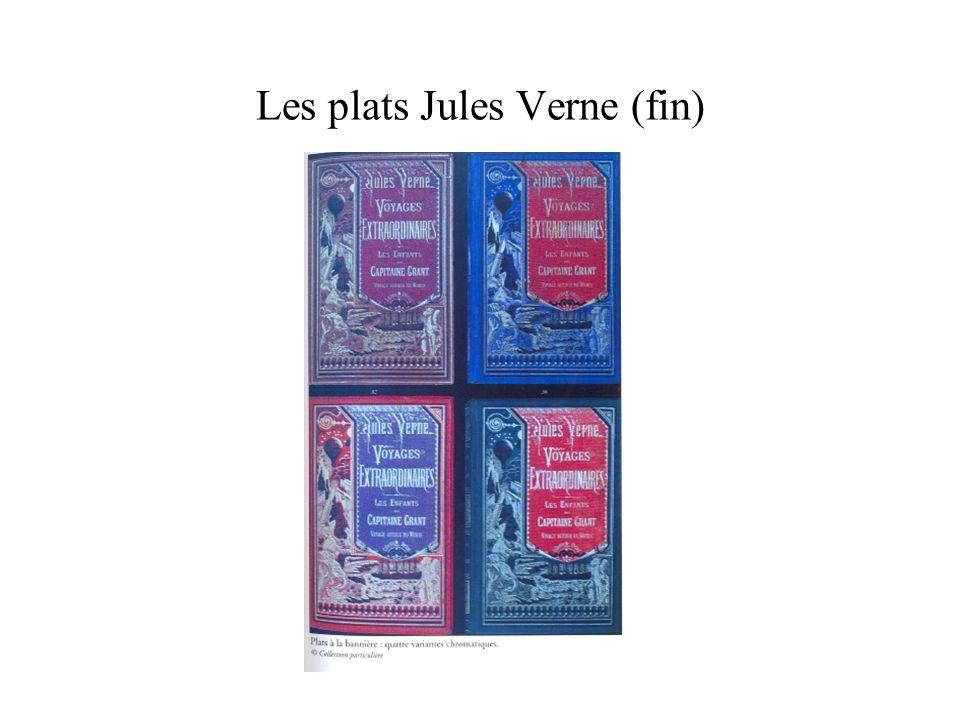 Les plats Jules Verne (fin)