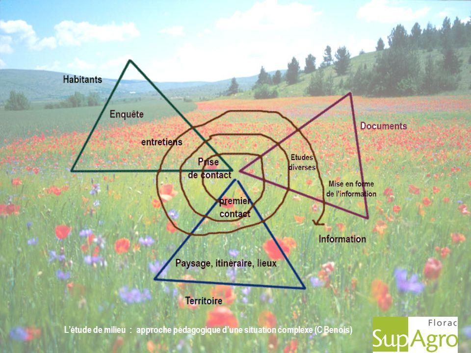 Létude de milieu : approche pédagogique dune situation complexe (C Benois)