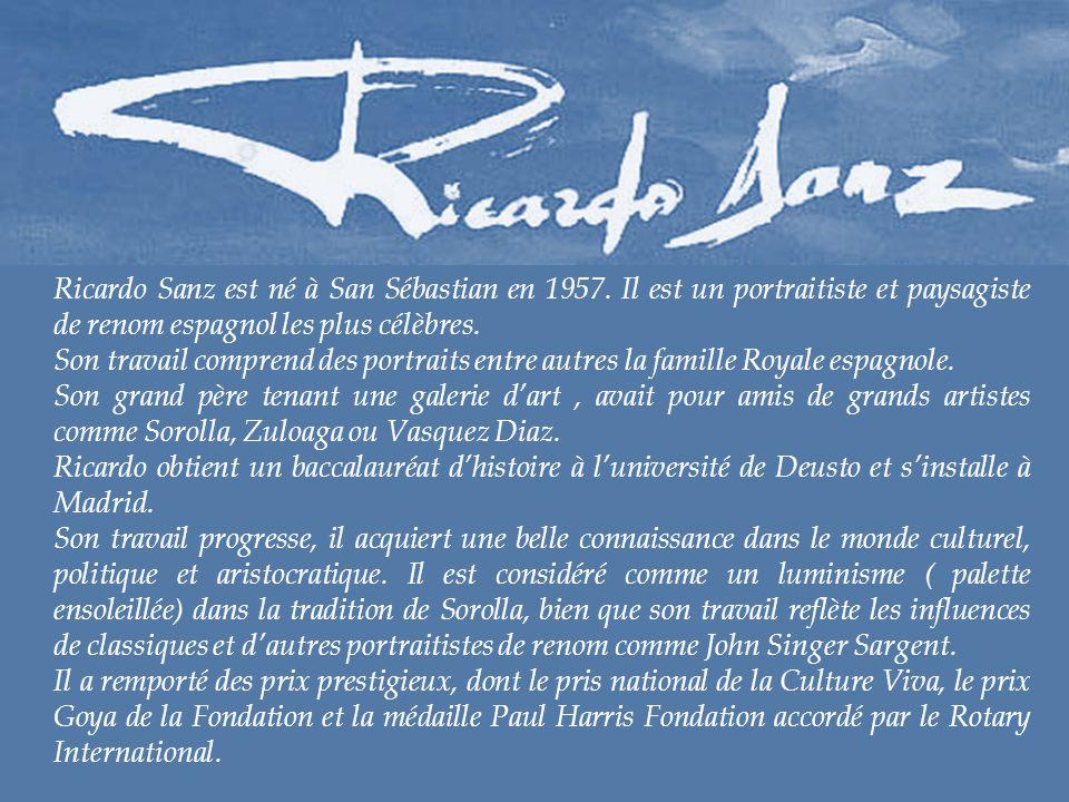 Ricardo Sanz est né à San Sébastian en 1957.