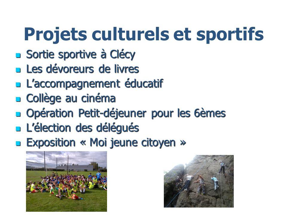 Projets culturels et sportifs Sortie sportive à Clécy Sortie sportive à Clécy Les dévoreurs de livres Les dévoreurs de livres Laccompagnement éducatif