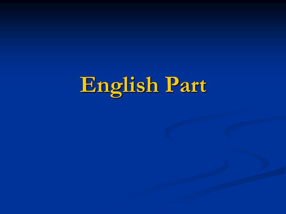 English Part