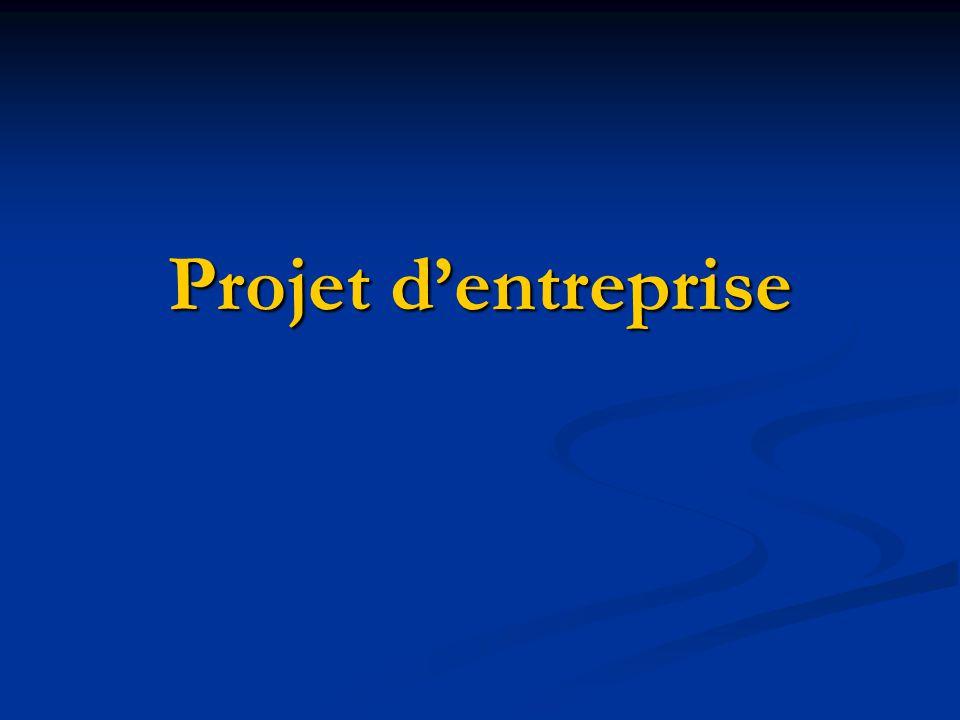 Conclusion du projet en entreprise Comme on la vu, mon parcours à été ponctué de projets denvergure ou jai pu approfondir toutes les connaissances théorique que javais acquises au cours de ma formation.