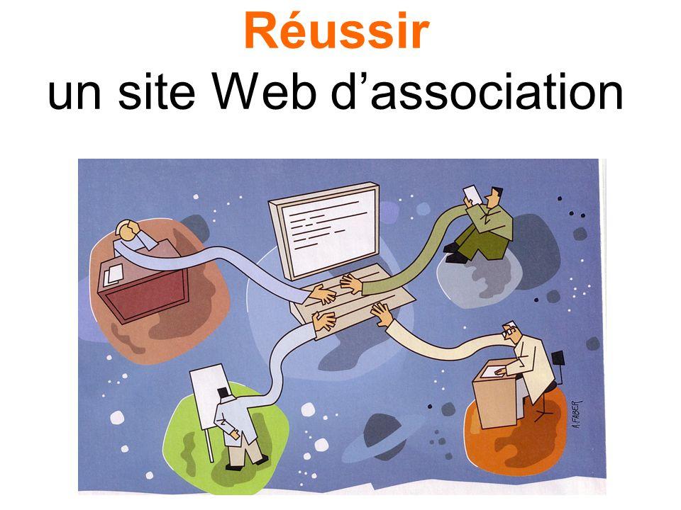 Réussir un site Web dassociation