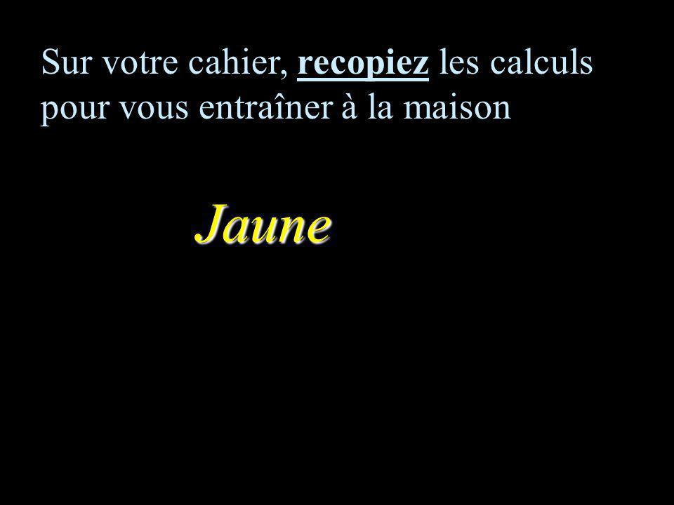 CALCUL MENTAL Thème8FONCTIONENTRAINEMENT Collège F Mauriac