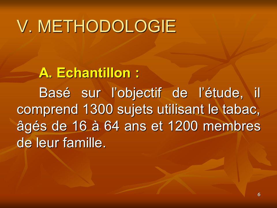 7 V.METHODOLOGIE B.