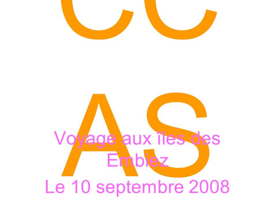 CC AS Voyage aux îles des Embiez Le 10 septembre 2008