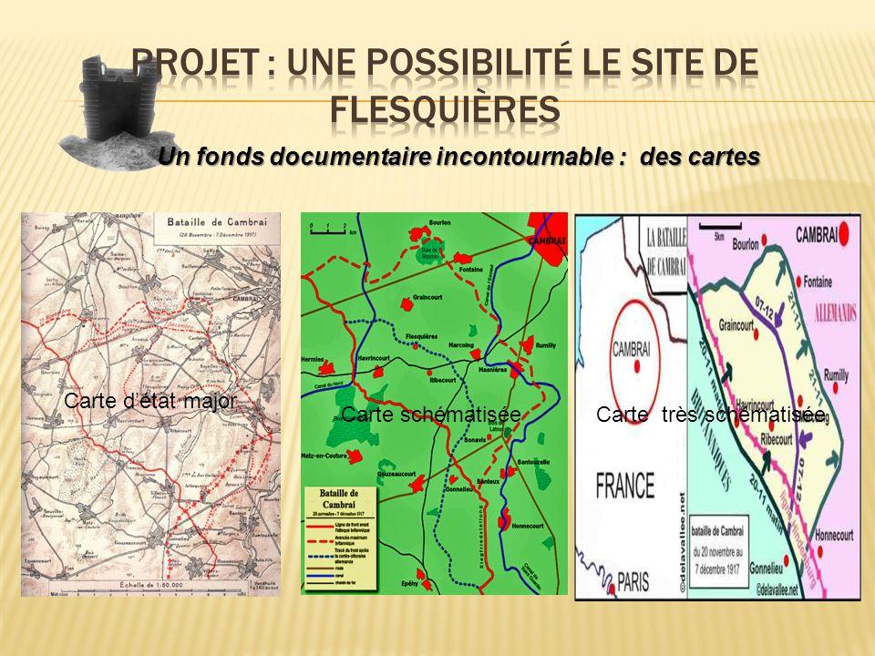 Un fonds documentaire incontournable : des cartes Carte détat major Carte schématiséeCarte très schématisée