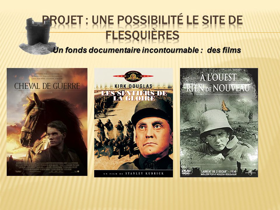 Un fonds documentaire incontournable : des films
