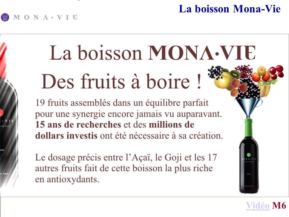 La boisson Mona-Vie VidéoVidéo M6