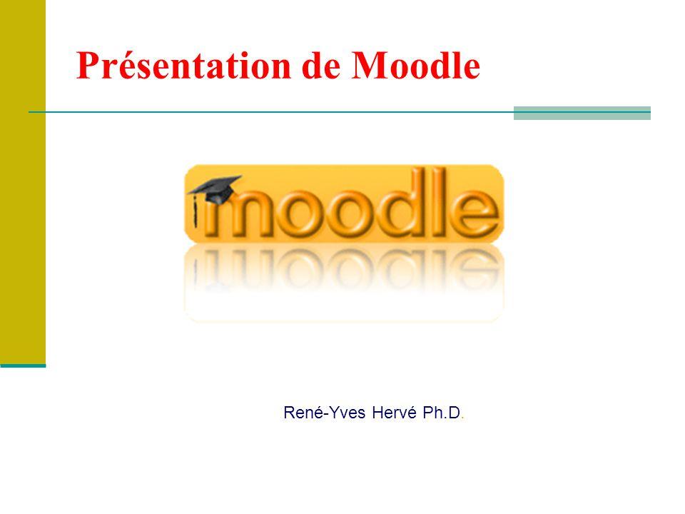 Présentation de Moodle René-Yves Hervé Ph.D.