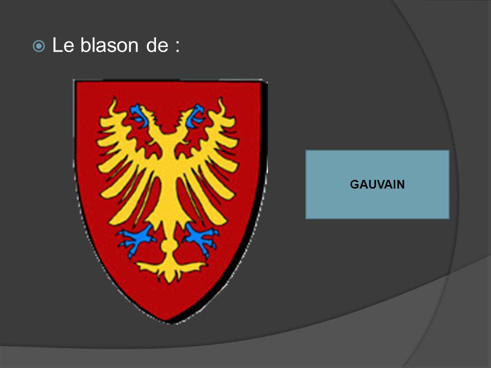 Le blason de : GAUVAIN
