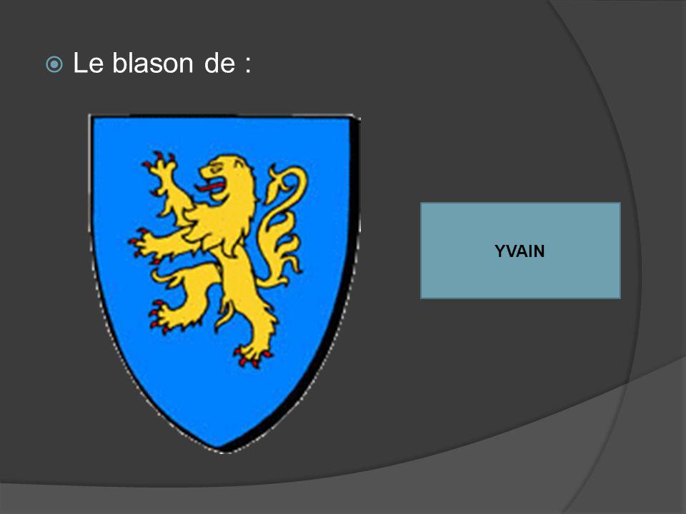 Le blason de : YVAIN