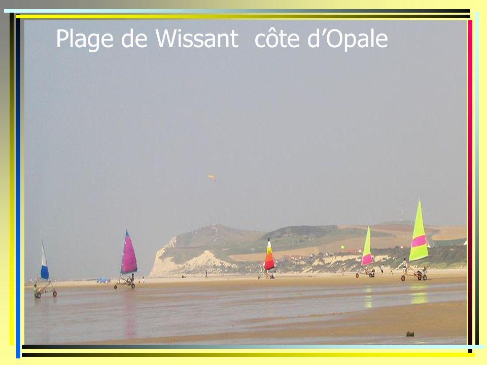 Plage de Wissant côte dOpale
