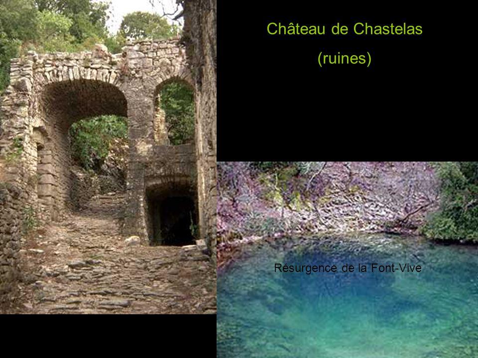 Village de Grospierres : l église