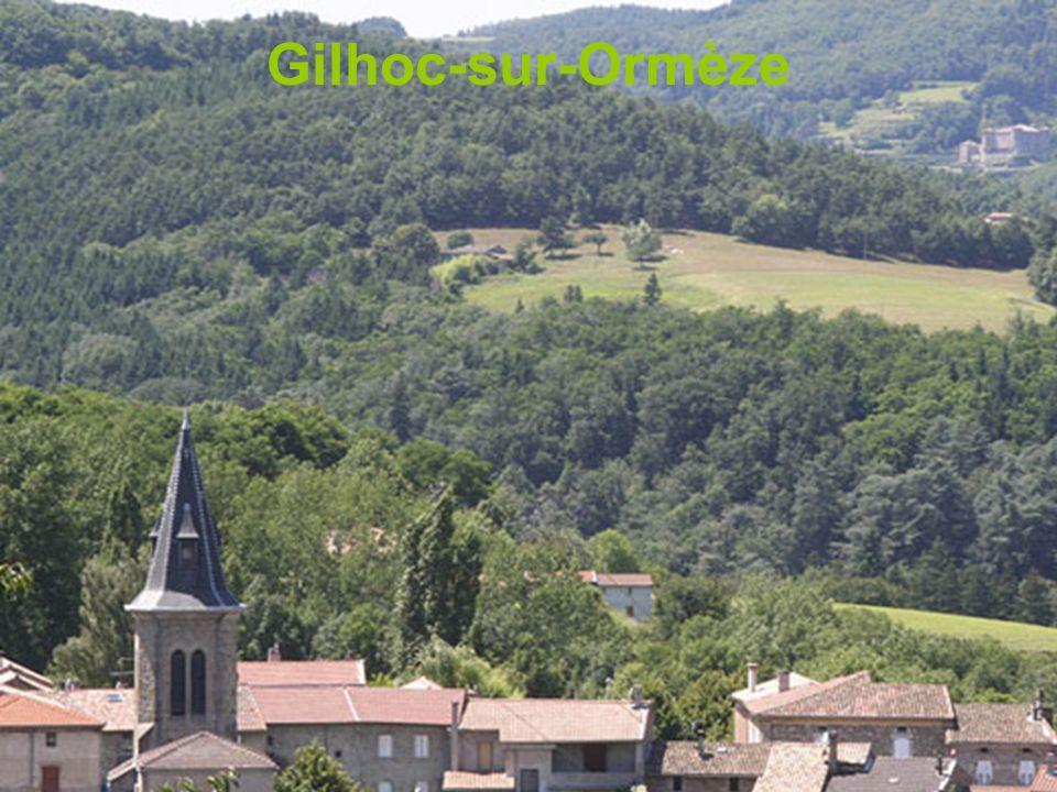 Temple de Gilhac Ruines du château de Pierregourde