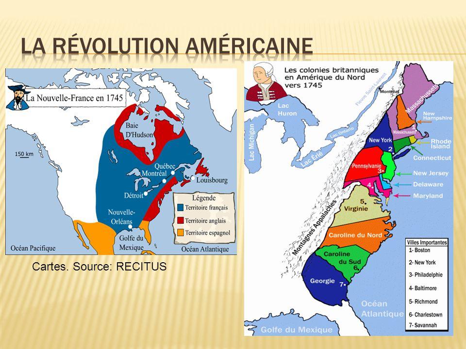 A)La Grande-Bretagne qui avait une politique protectionniste décida de faire payer les frais de la guerre à ses colonies.