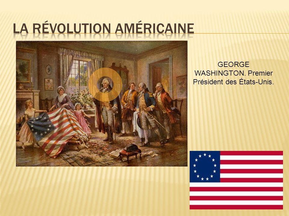 GEORGE WASHINGTON. Premier Président des États-Unis.