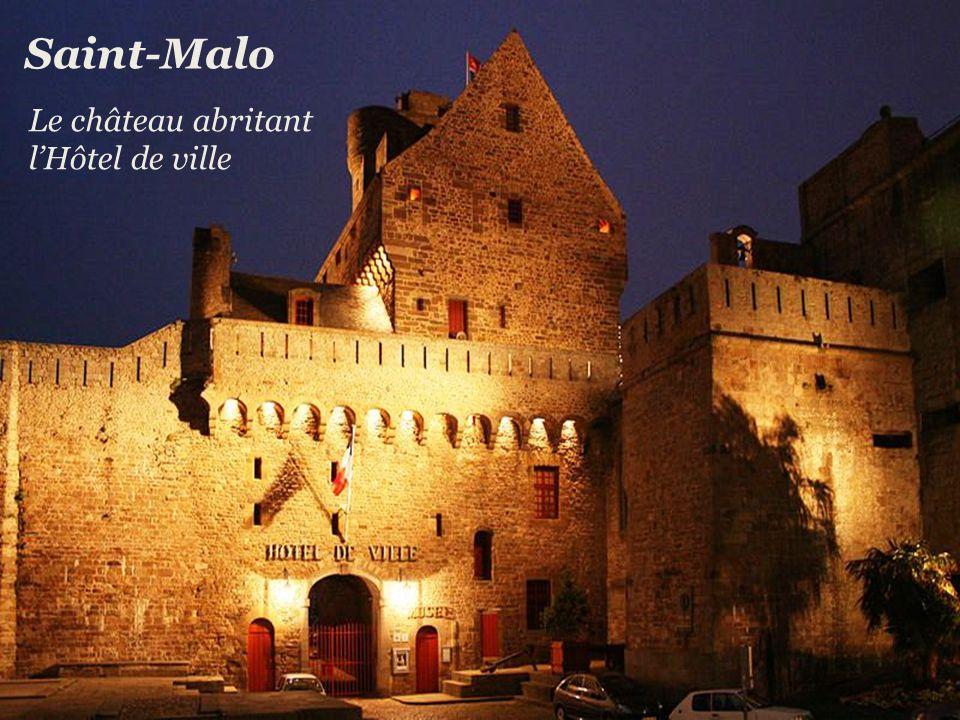 Le port Saint-Malo