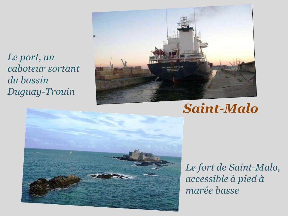 Saint-Malo Les remparts Sur les remparts de la ville