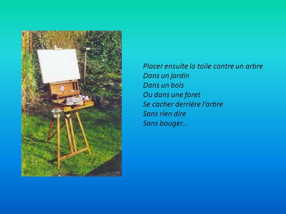 POUR FAIRE LE PORTRAIT D UN OISEAU Peindre dabord une cage avec une porte ouverte Peindre ensuite Quelque chose de joli Quelque chose de simple Quelqu