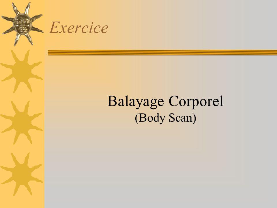 Exercice Balayage Corporel (Body Scan)