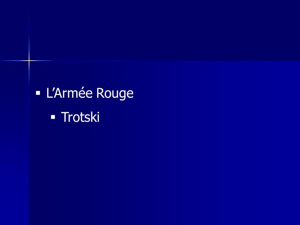 LArmée Rouge Trotski