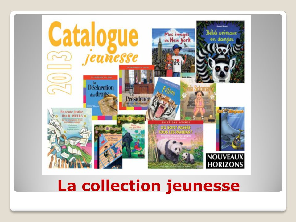 La collection jeunesse