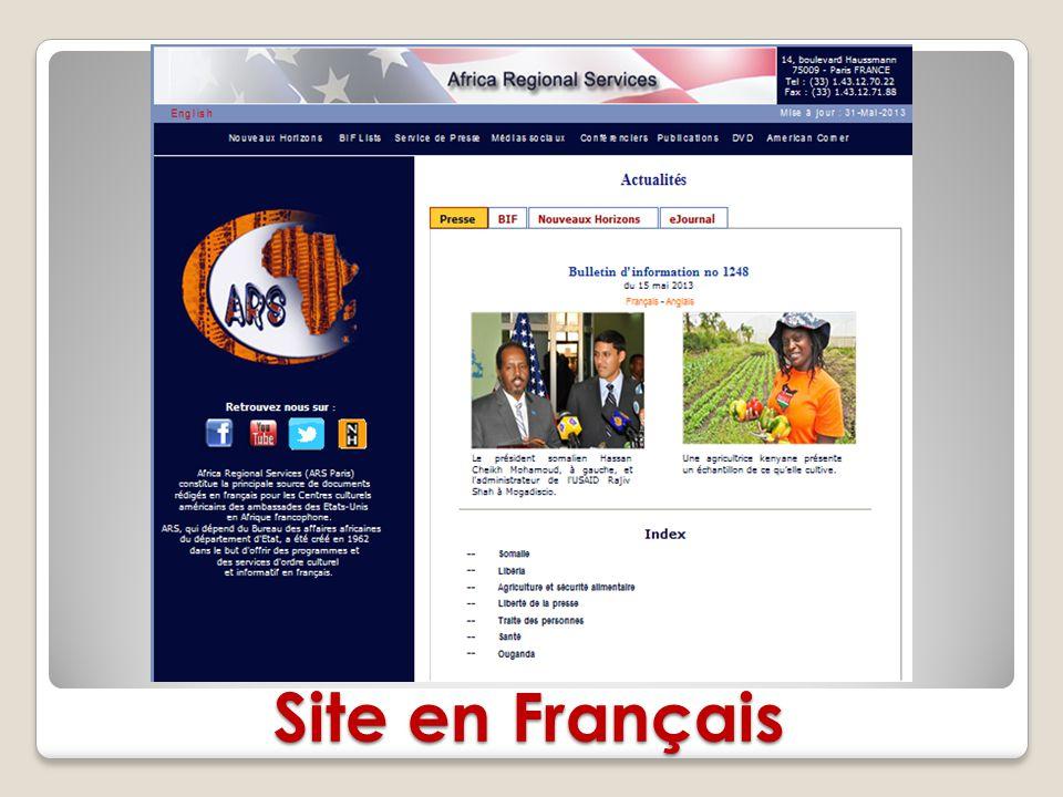 Site en Français