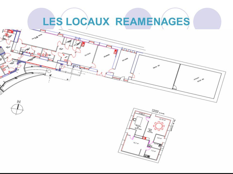 26 LES LOCAUX REAMENAGES