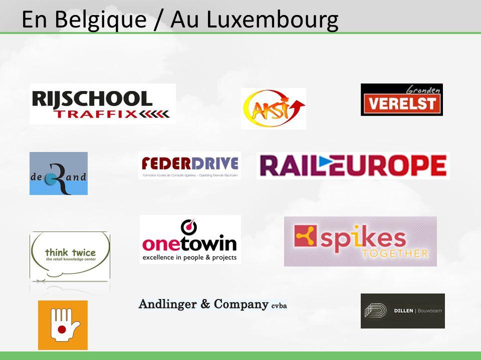 En Belgique / Au Luxembourg
