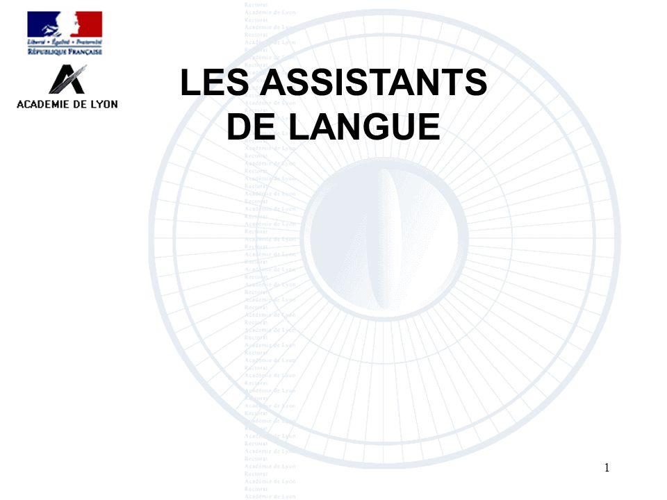 LES ASSISTANTS DE LANGUE12
