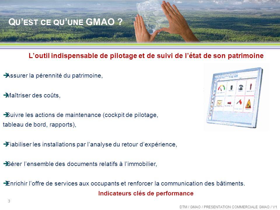 GÉNIE CLIMATIQUE ET RÉFRIGÉRATION LE SERVICE GMAO
