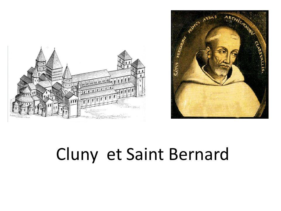 Saint Bernard a été moine de Cîteaux.