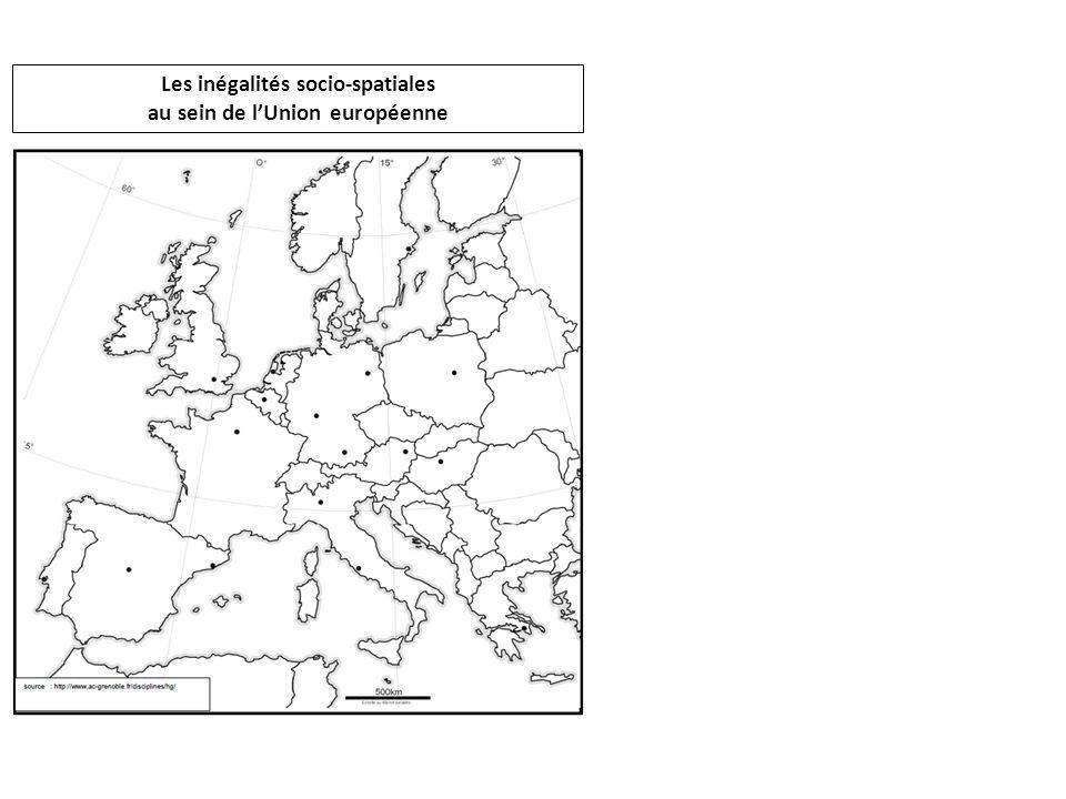 Les inégalités socio-spatiales au sein de lUnion européenne